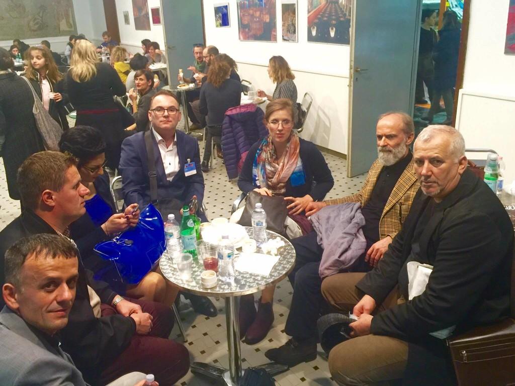 Rome 8 dhjetor 2016 - Palluqi, Olluri, Aishe e Agron Gashi, Iris e Gezim Hajdari, Radi