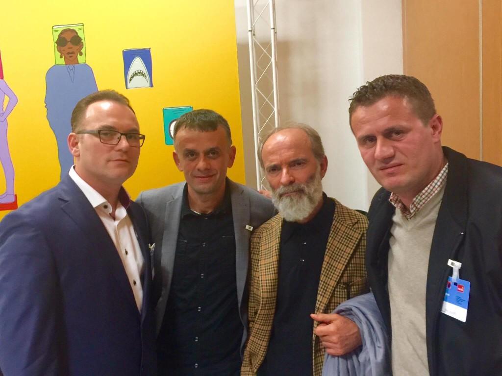 Romë 2016 - Agron Gashi, Rezart palluqi, Gëzim Hajdari, Adil Olluri