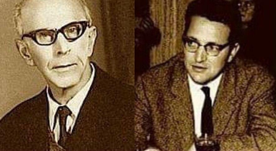 Selman Riza dhe Martin Camaj