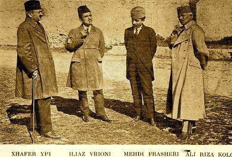 Xhaferr Ypi - Ilijaz Vrioni - Mehdi Frasheri - Ali Riza Kolonja