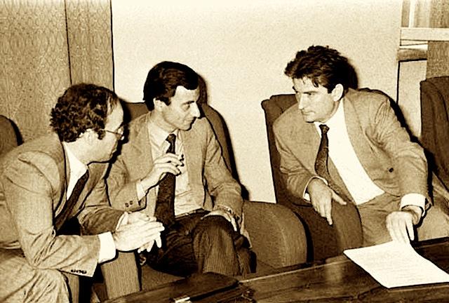 Fatos Nano - Sali Berisha - Genc-Ruli 1991
