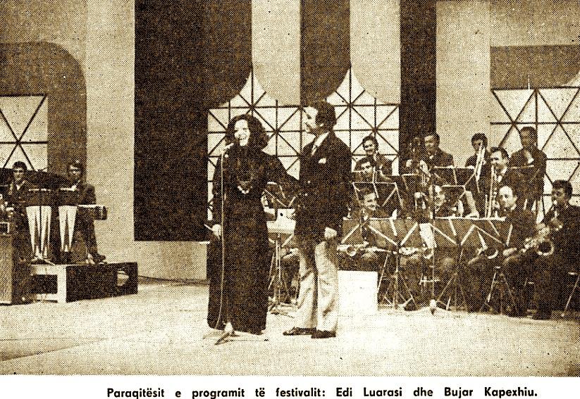 Festivali i 11 i Këngës në RTSH - Edi Luarasi & Bujar Kapexhiuu