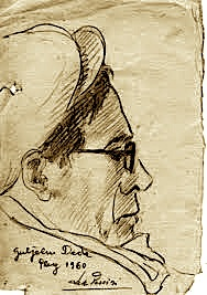 Guljelm Deda - skica Lek Pervizi (Pluk 1960)