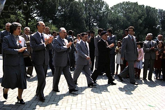 Anëtarët e Byrosë Politike të Shqipërisë