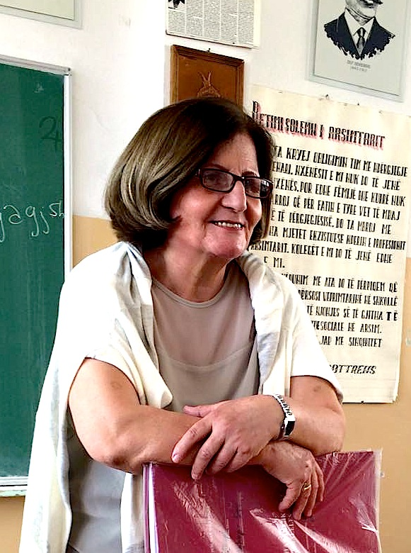 Shkrimtarja Puntorie Muça - Ziba