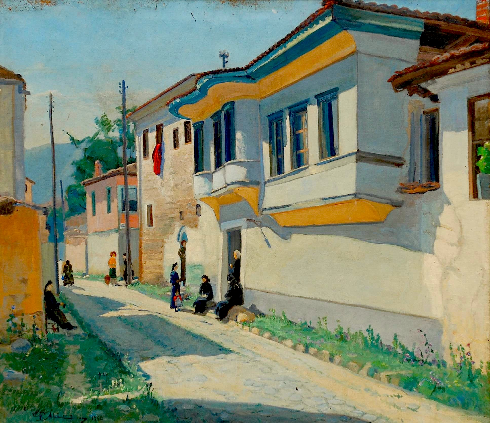 Vangjush Mio, - piktori i parë profesionist në Shqipërinë e shekullit XX  Suzana Varvarica Kuka   Radi and Radi