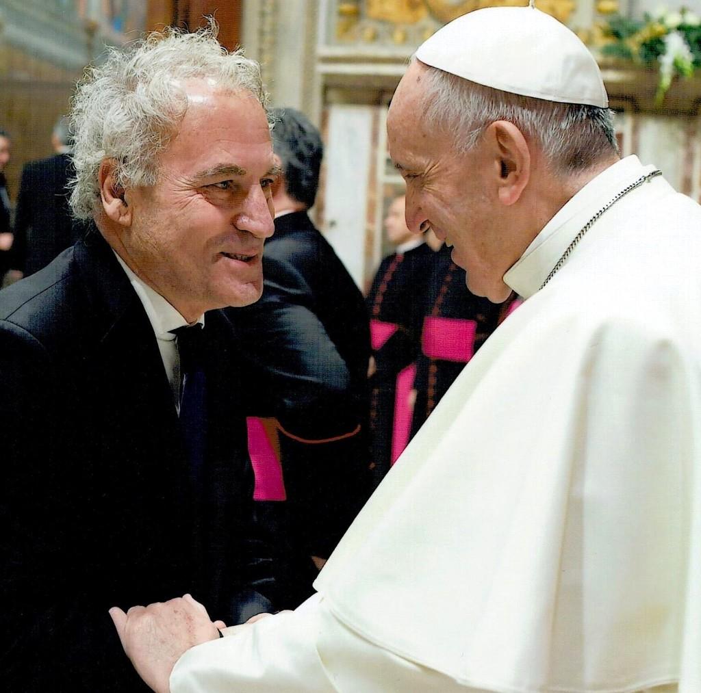 Papa Françesku dhe Visar Zhiti