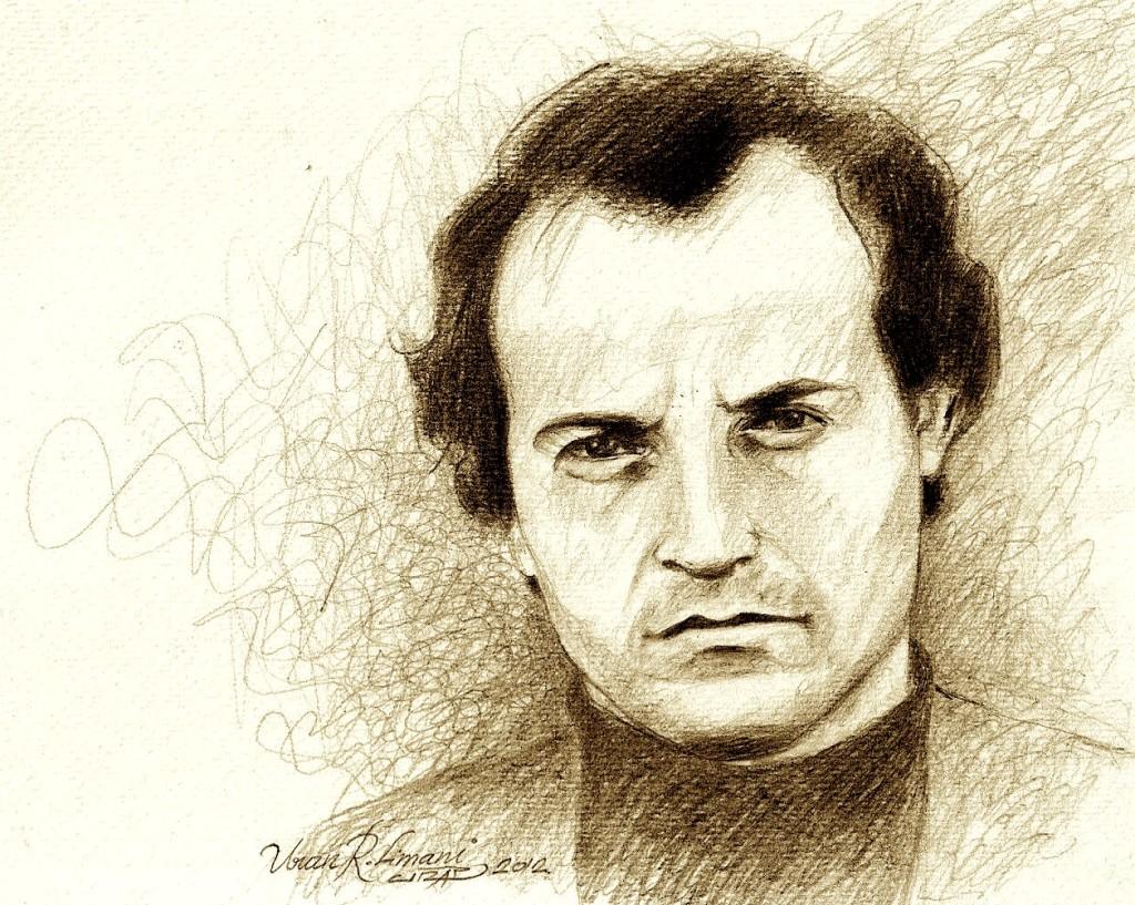 Jusuf Gërvalla (1945-1982) - skicë nga Uran Limani464035o