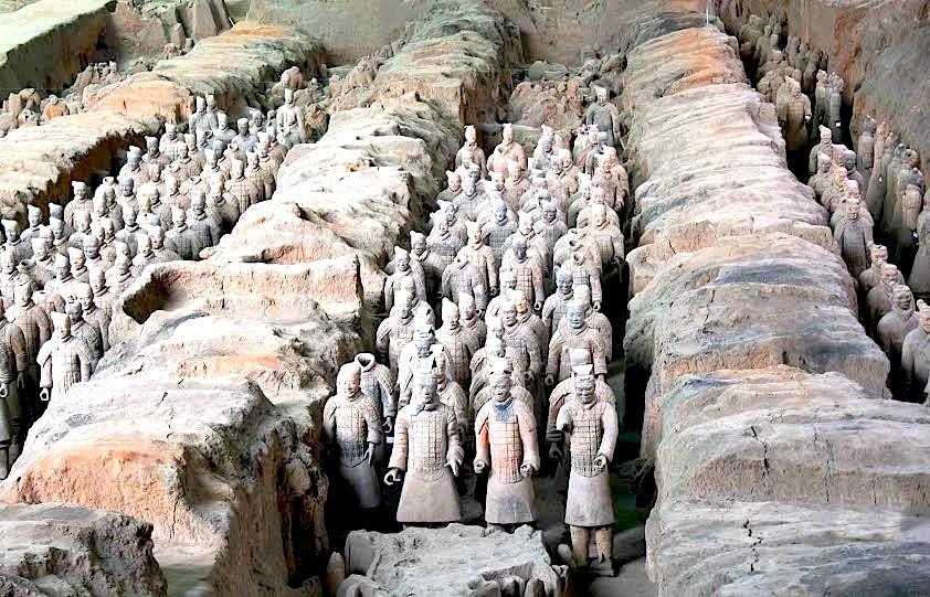 Kinë - Xian - Ushtria e Tullës së Pjekur