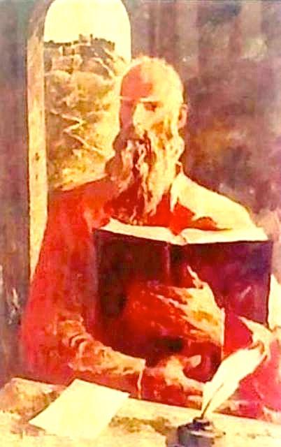 Gjon Buzuku - portret ne vaj - Danish Jukniu