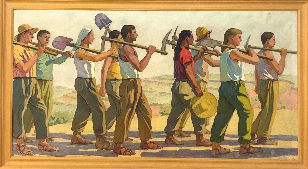 Aksionistët - vepër e Realizmit Socialist