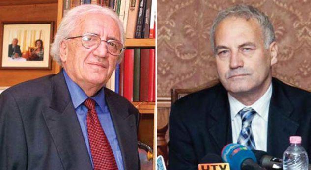Dritero Agolli & Visar Zhiti