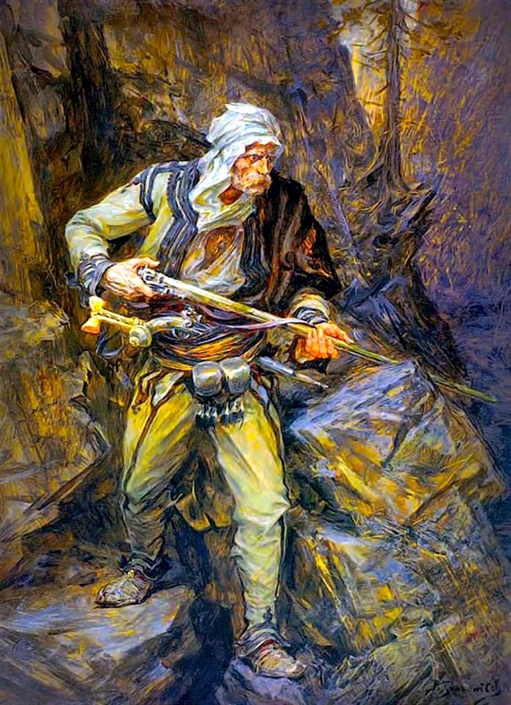 Shqiptari në pritë - 1884 - Paja Jovanoviç