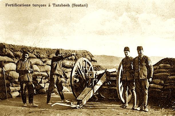 Hasan Riza Pasha - Mbrojtja ne Tarabosh