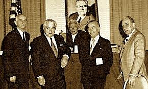Dr. Rexhep Krasniqi, Prof. Vasil Allarupi, inxh. Ago Agaj...