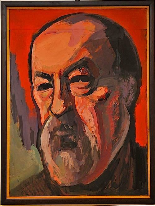 Lin Delija (1926-1994) - Autoportret