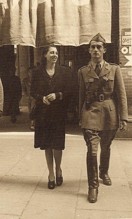 Valentini me gruen, Gorizia Manini, nё Bologna, 1942