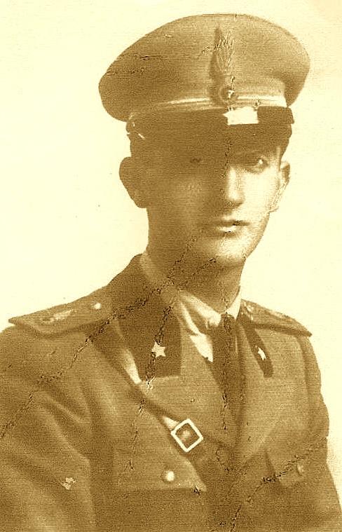 Në Shkollën Ushtarake të Romës 1936-1939