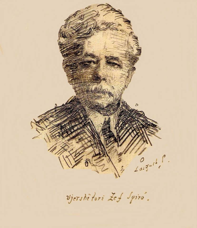 Zef Schiroi (1865-1927) portret prej Lasgush Poradecit