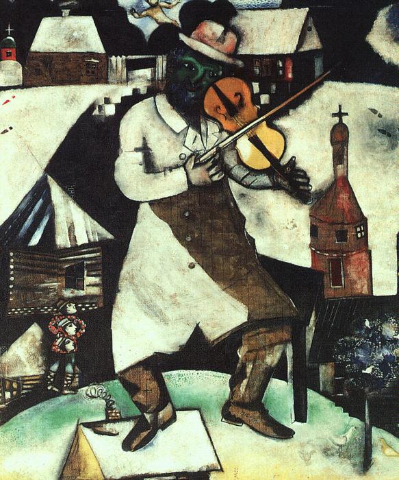 Marc Chagall - Fidler