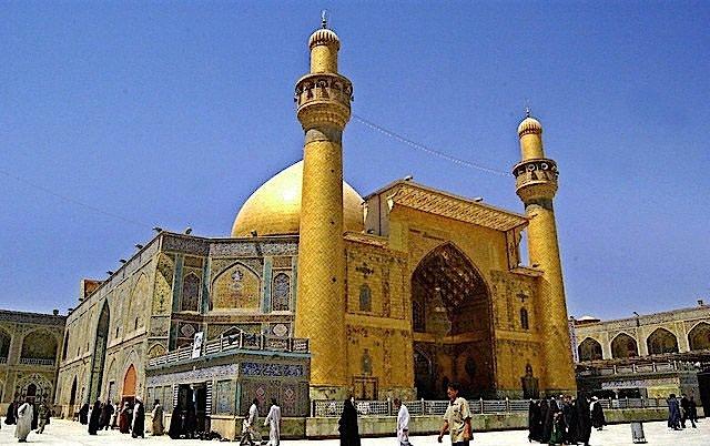 Xhamia e Aliut në Nexhef, Irak