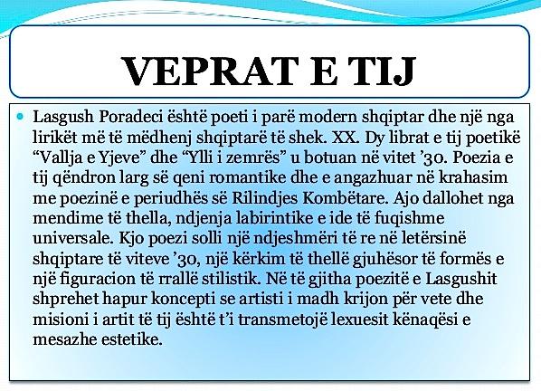 Lasgush Poradeci - Romantiku i Fundit i Letërsisë Shqipe
