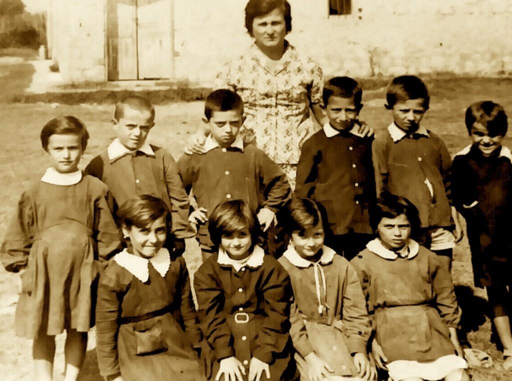 Herman Dine - Shkolla fillore - Kampi i Gjazës