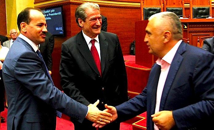 Ish Presidenti Berisha - Presidenti Nishani dhe Presidenti i Ardhshëm Meta