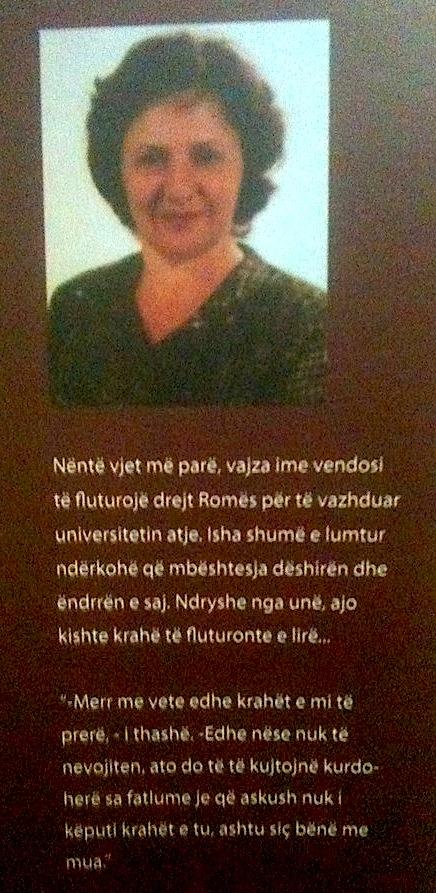 Alma. N. Liço dhe një urim për fëmijën e saj