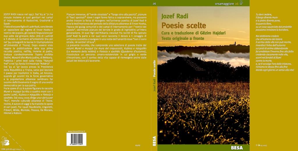 Jozef Radi - Kopertina - Poesie Scelte 2017