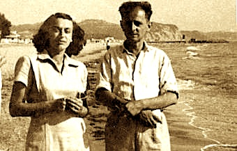 Eqrem Çabej me gruan Shyretin