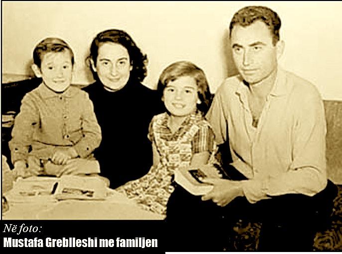 Mustafa Greblleshi dhe Familja e tij