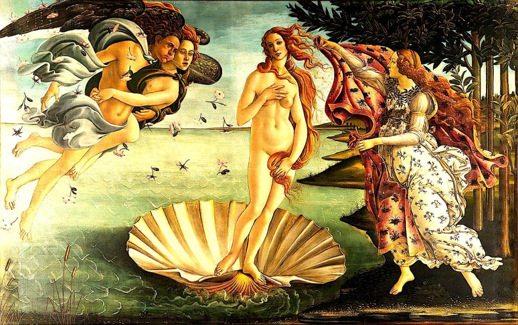 Sandro Botticelli - Lindja e Veneres