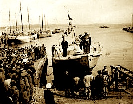 Motovedeta Mujo Ulqinaku - 15 gusht 1945