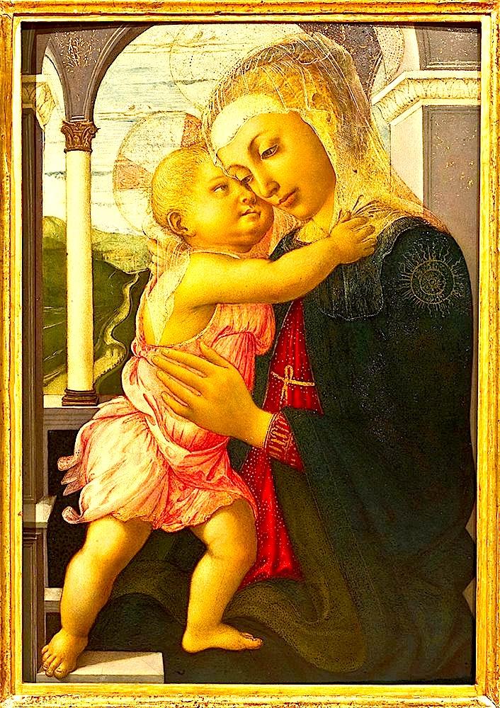 Sandro Botticelli - Virgjnesha dhe Fëmija