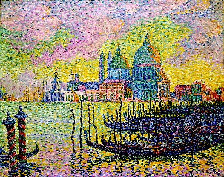Paul Signac - Venezia - Canal Grande