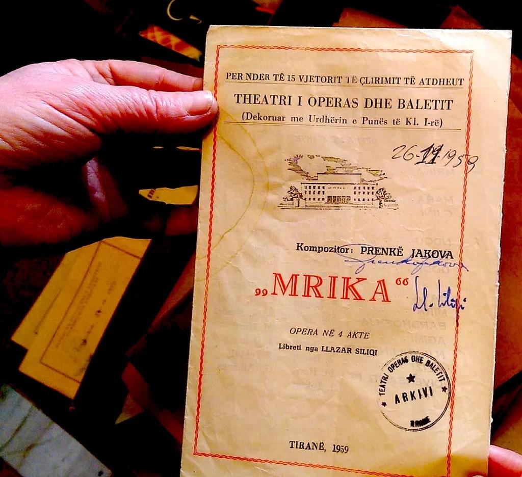 Prenkë Jakova - Mrika - Opera e pare shqiptare