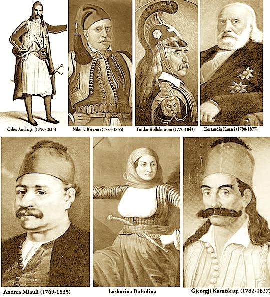 Arvanitas te Revolucionit Grek (1821)
