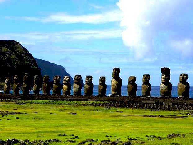 Në Ishullin e Pashkës numërohen plot 638 statuja