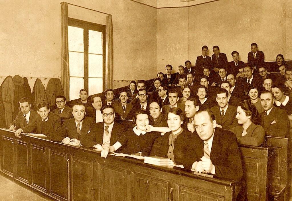 Studentë të Jurisprudencës - Montpellier Francë 1937