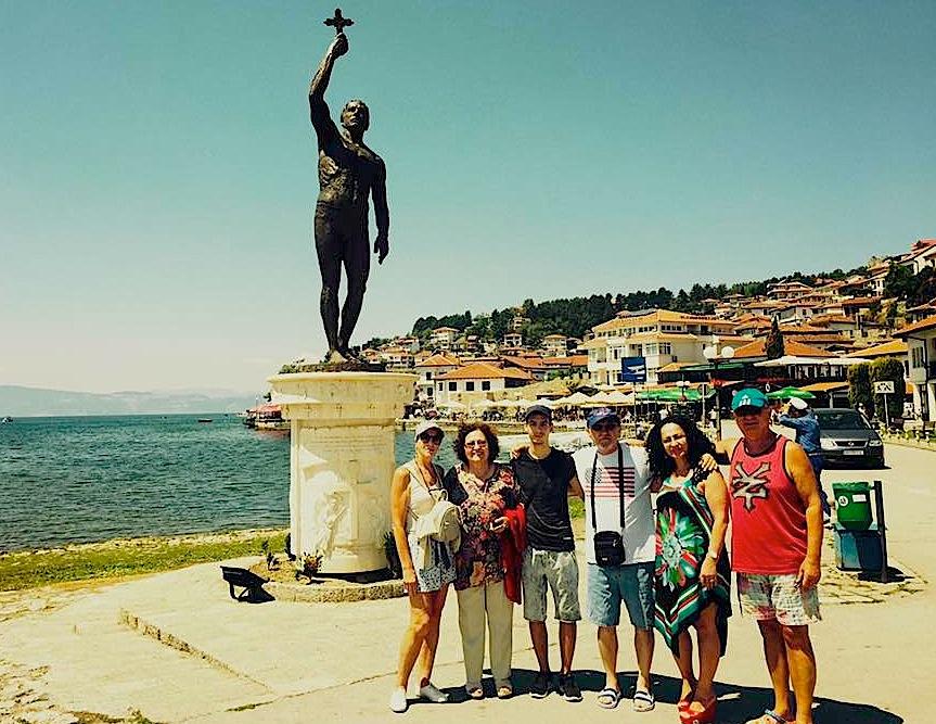 Ohër - korrik 2017, Adriatik Dosti me miq dhe të afërm