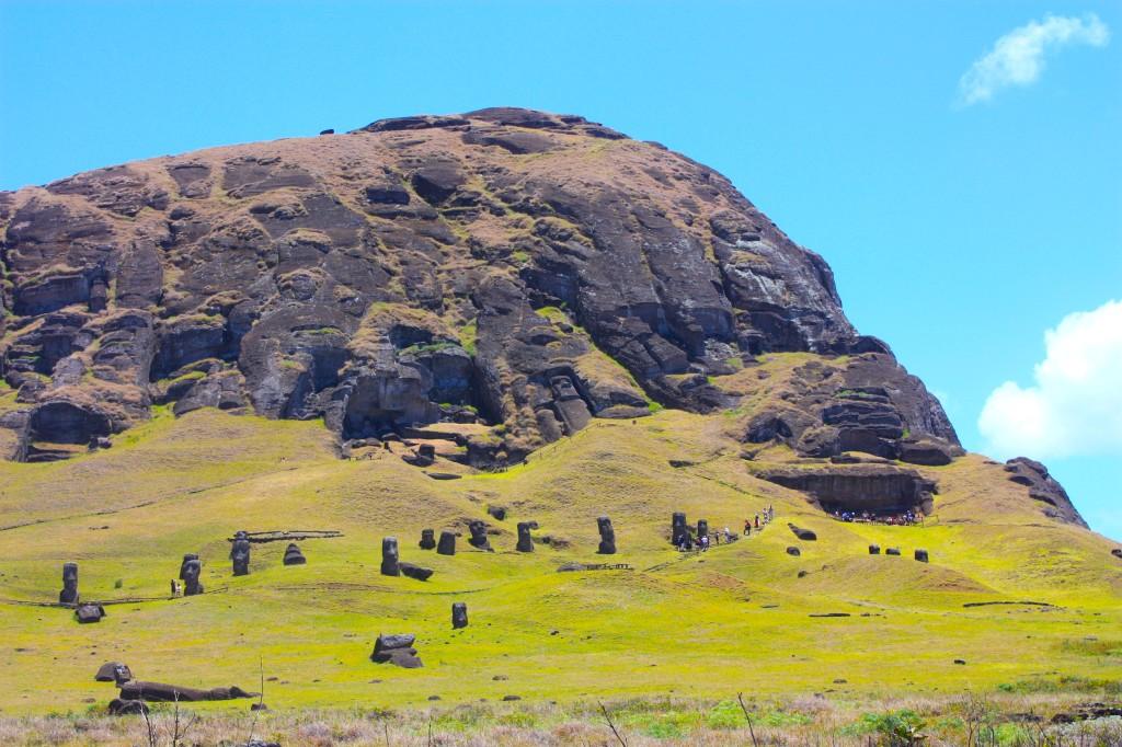 Ishulli i Pashkës (Rapa Nui) Rano Raraku