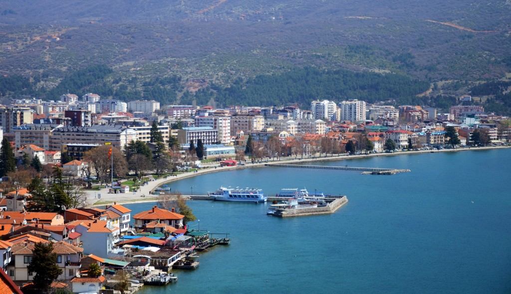 Liqeni i Ohrid - Panorame