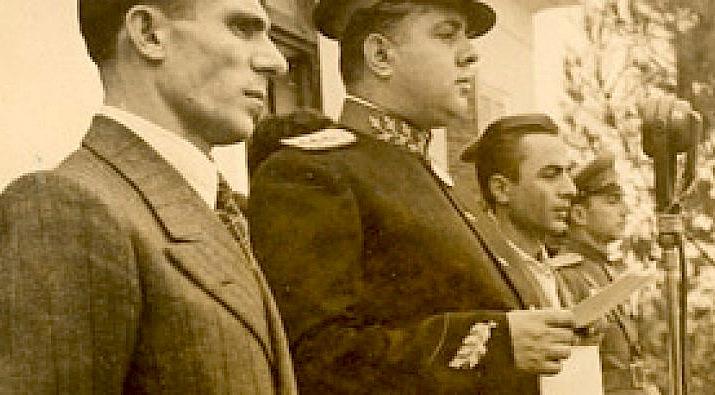 Krah per krah Pandi Kristo dhe Enver Hoxha