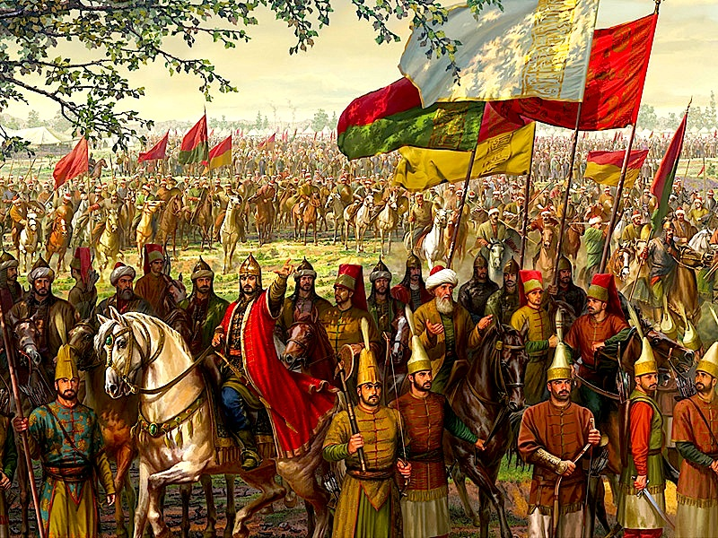 Ushtria Otomane ne Rrethimin e Kostandinopojes