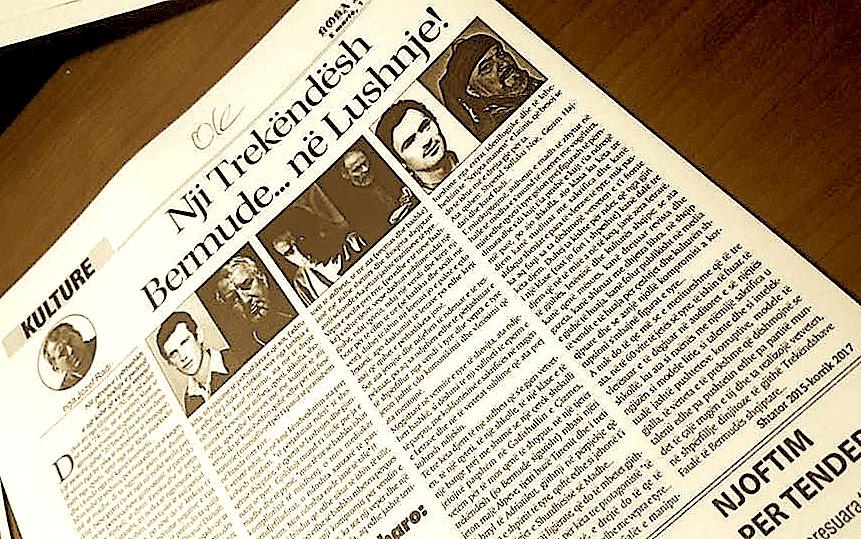 """Gazeta """"Koha Jonë"""" - 1 gusht 2017"""