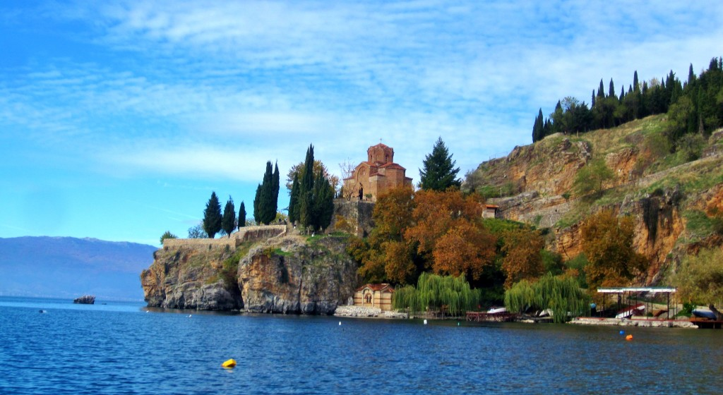 Pamje nga bregu i Ohrid