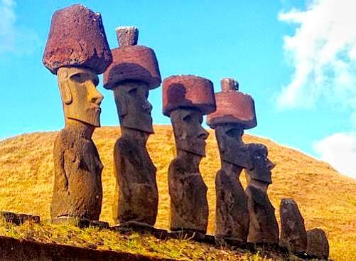 statuja mbajnë mbi kokë një cilindër (pukao)