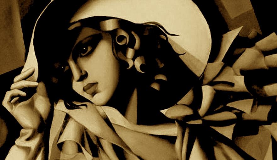 Vajza me dorashka - Tamara de Lempicka