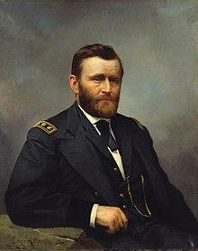 Portret i Uliks S. Grantit nga Konstant Majer, 1866.
